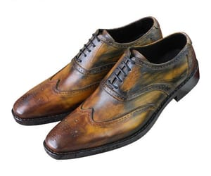 men wedding shoes, men's leather shoes, and goodyear short boots image