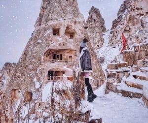 turkey, underground city, and cappadocian image