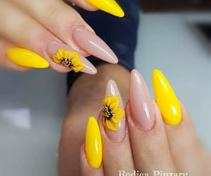 beautiful, goals, and yellow nails image