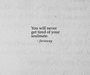 forever, soulmate, and poetry image
