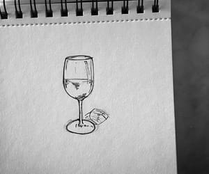 arte, blanco y negro, and dibujo image