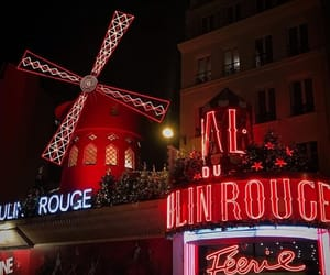 arquitectura, lugares, and moulin rouge image