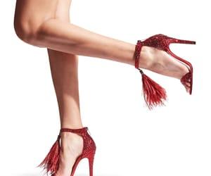 crystal, Jimmy Choo, and heels image