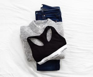 fashion, Calvin Klein, and outfit image