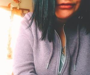 bluehair, cut, and hair image