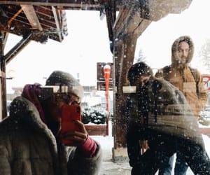 austria, snow, and snowboarding image