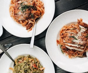 food, rome, and travel image
