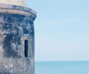azul, colombia, and muralla image