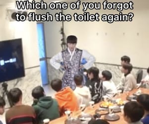 funny, reaction, and kpop image