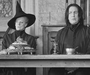 harry potter, minerva mcgonagall, and hogwarts image