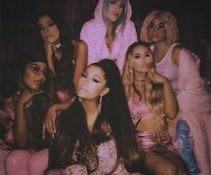 ariana grande, 7 rings, and friends image