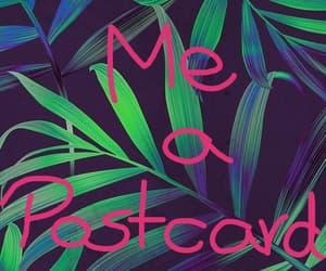 me, postcard, and send image