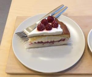 aesthetics, cake, and cherry image