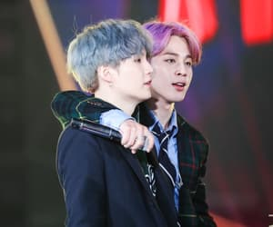 yoongi, jimin, and k-pop image