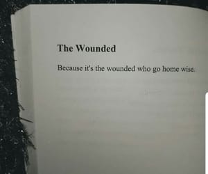 wise, wounded, and go home image