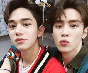 lucas, wayv, and kun image