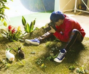 zico, block b, and she's a baby image