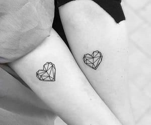 tattoo, heart, and art image