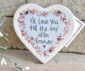 I Love You, love quotes, and salt dough ornament image