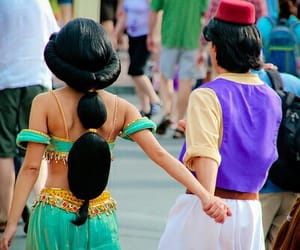 aladin, disney, and disneyland image