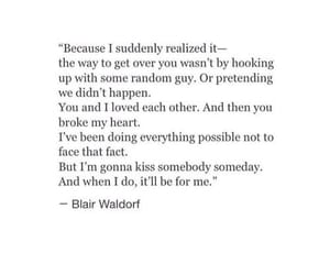 deep, quotes, and gossipgirl image