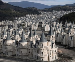 abandoned, castle, and housing image