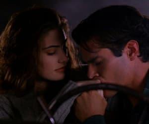 couple, kiss, and Twin Peaks image