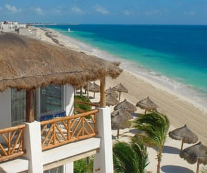 mexico, nude beach, and all inclusive resort image