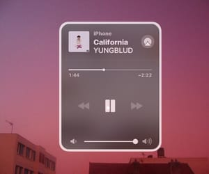 california, yungblud, and music image