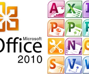 microsoft office, microsoft office 2010, and key office 2010 image
