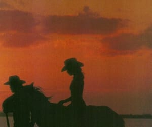 sunset, tumblr, and vintage image