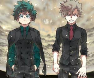 anime, boku no hero academia, and boy image