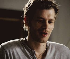 gif, the vampire diaries, and niklaus mikaelson image