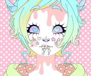 colourfull, kawaii, and pastel image