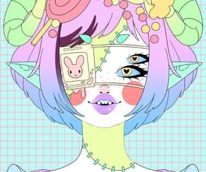 colourfull, kawaii, and monster image