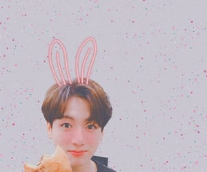 background, blush, and bunny image