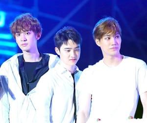 exo, chankaisoo, and kpop image