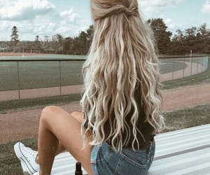 curls, tumblr, and girls image