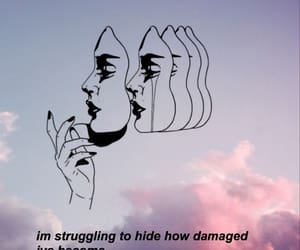 alone, damaged, and melancholia image