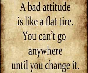 attitude, change it, and black image