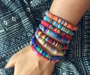 etsy, woven bracelet, and friendship bracelet image