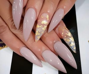 acrylics, long, and nails image