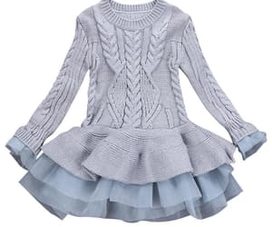 baby, dress, and girls image