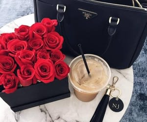 rose, Prada, and bag image