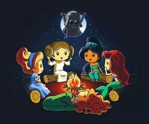 Anakin Skywalker, ariel, and belle image