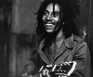 bob marley, guitar, and reggae image
