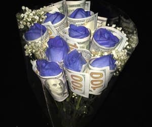 flowers and money image