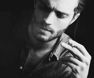 Jamie Dornan, Hot, and black and white image