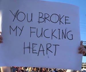 broken heart and grunge image