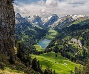 nature, landscape, and mountains image
